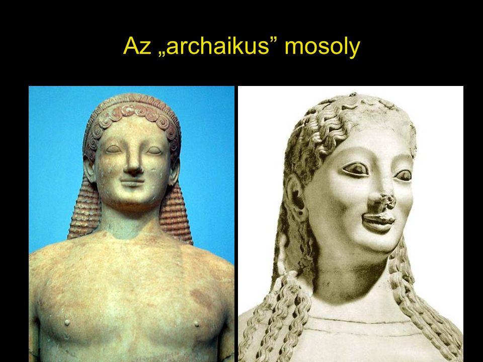 "Az ""archaikus mosoly"