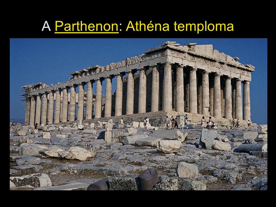 A Parthenon: Athéna temploma