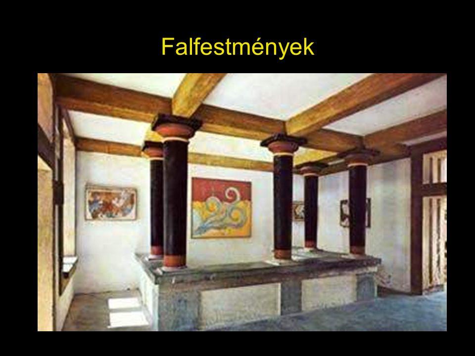 Görög lakóház, átrium megjelenése