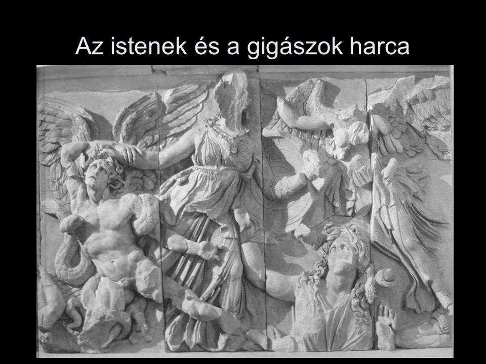 Az istenek és a gigászok harca