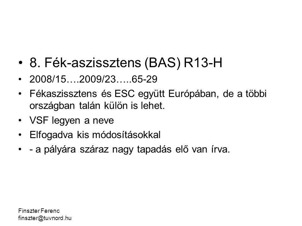 Finszter Ferenc finszter@tuvnord.hu 8.