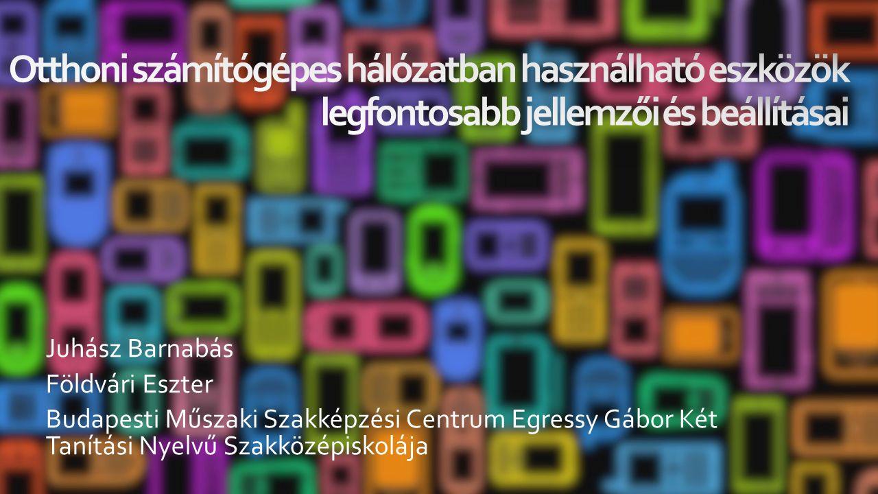 Juhász Barnabás Földvári Eszter Budapesti Műszaki Szakképzési Centrum Egressy Gábor Két Tanítási Nyelvű Szakközépiskolája