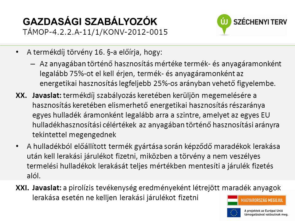 A termékdíj törvény 16.