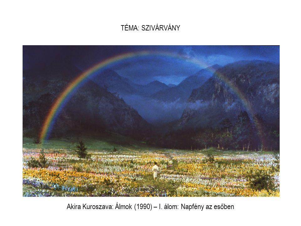 Akira Kuroszava: Álmok (1990) – I. álom: Napfény az esőben TÉMA: SZIVÁRVÁNY