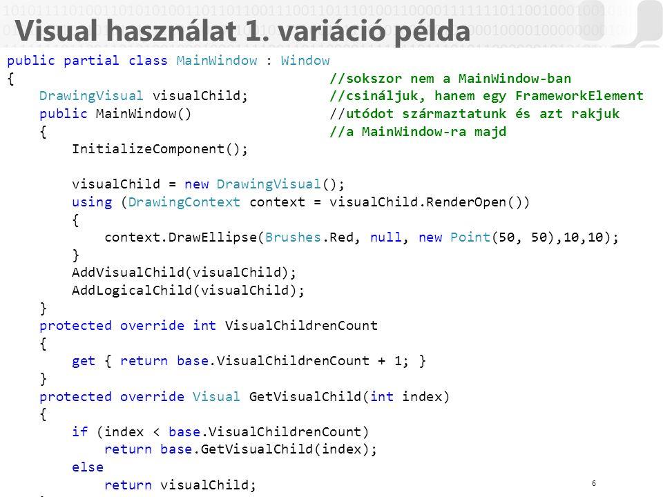 V 1.0ÓE-NIK, 2014 Visual használat 1.