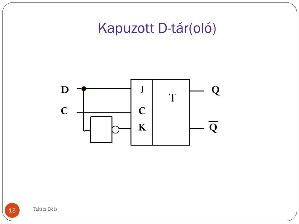 Kapuzott D-tár(oló) J K T Q Q C D C 13 Takács Béla