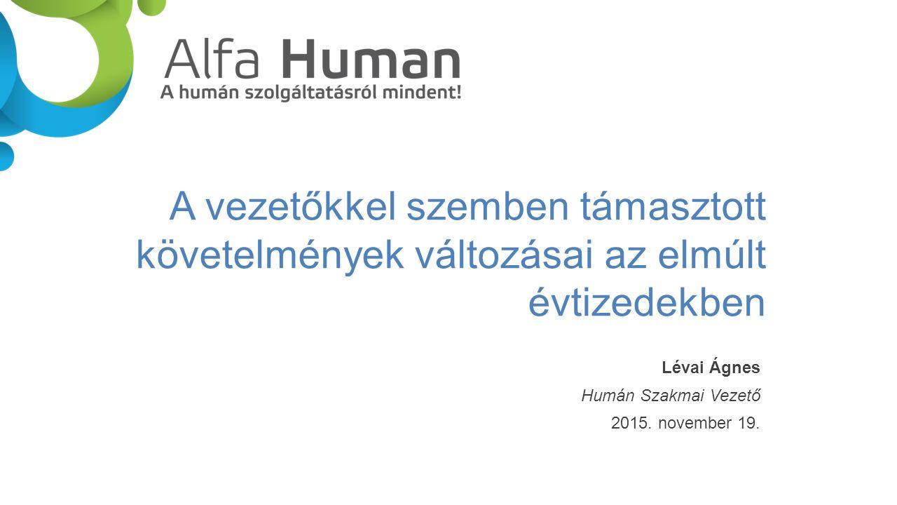 ALFA-HUMAN Kft.3580 Tiszaújváros, Szent István u.
