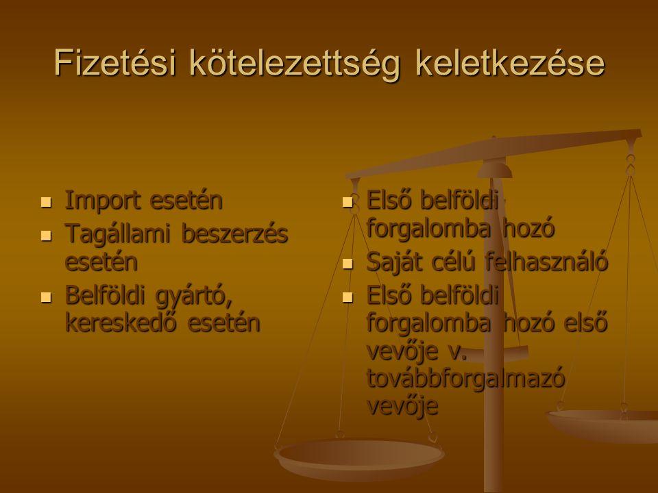 A fizetendő termékdíj lehet: Darabalapú (kereskedelmi csomagolás esetén) Darabalapú (kereskedelmi csomagolás esetén) Súlyalapú (a többi termékkör esetében) Súlyalapú (a többi termékkör esetében)