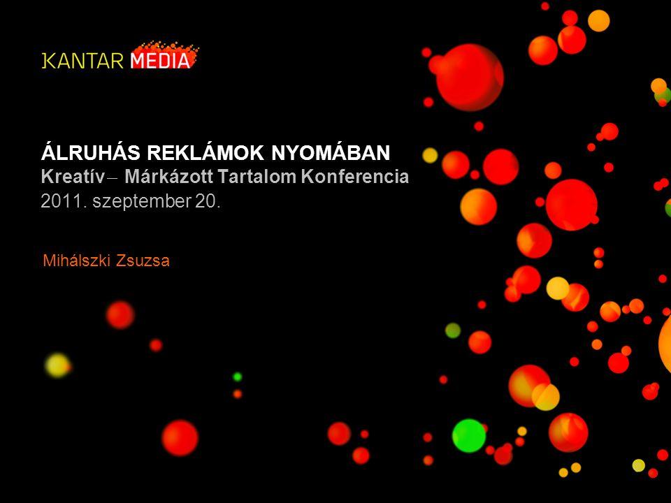 ÁLRUHÁS REKLÁMOK NYOMÁBAN 2Álruhás reklámok nyomában, 2011. szeptember 20. A KIHÍVÁS