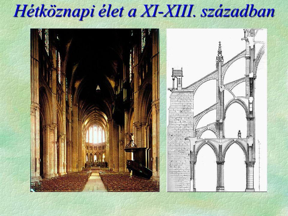 Hétköznapi élet a XI-XIII. században