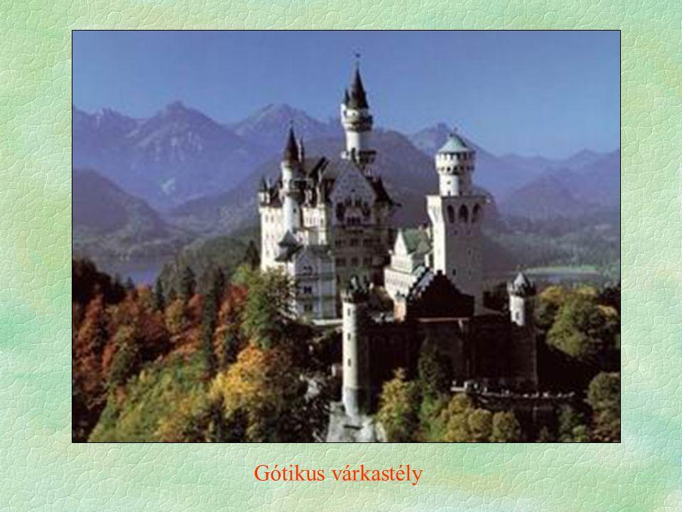 Gótikus várkastély