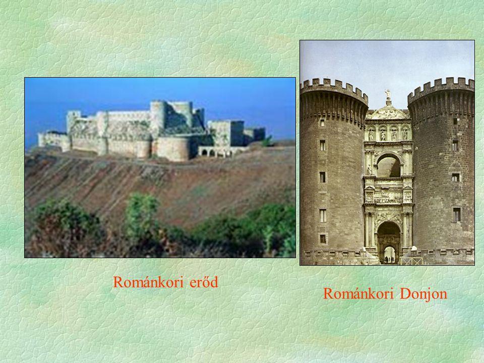 Románkori erőd Románkori Donjon