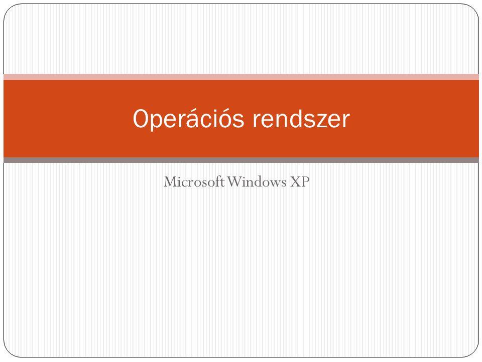 Microsoft Windows XP Operációs rendszer