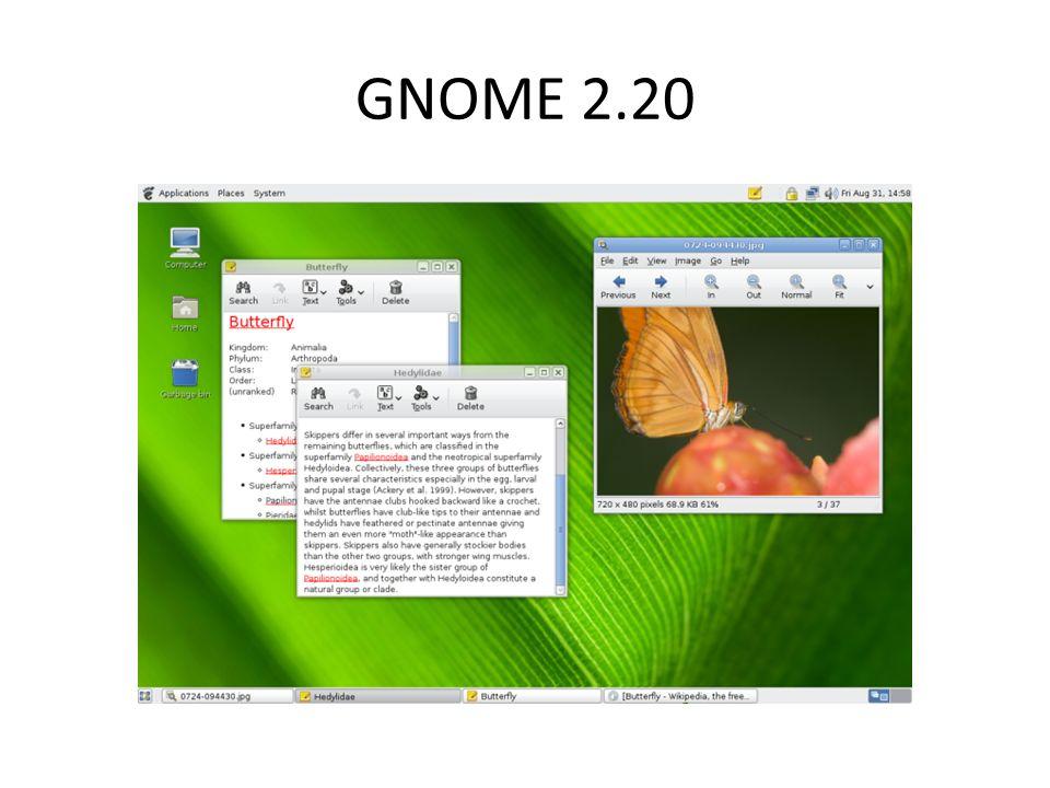 GNOME 2.20