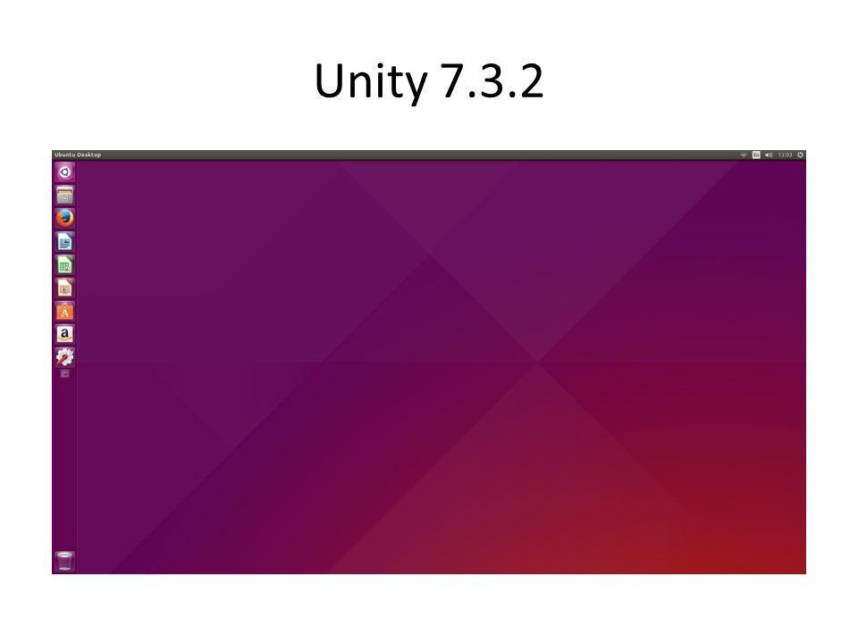 Unity 7.3.2