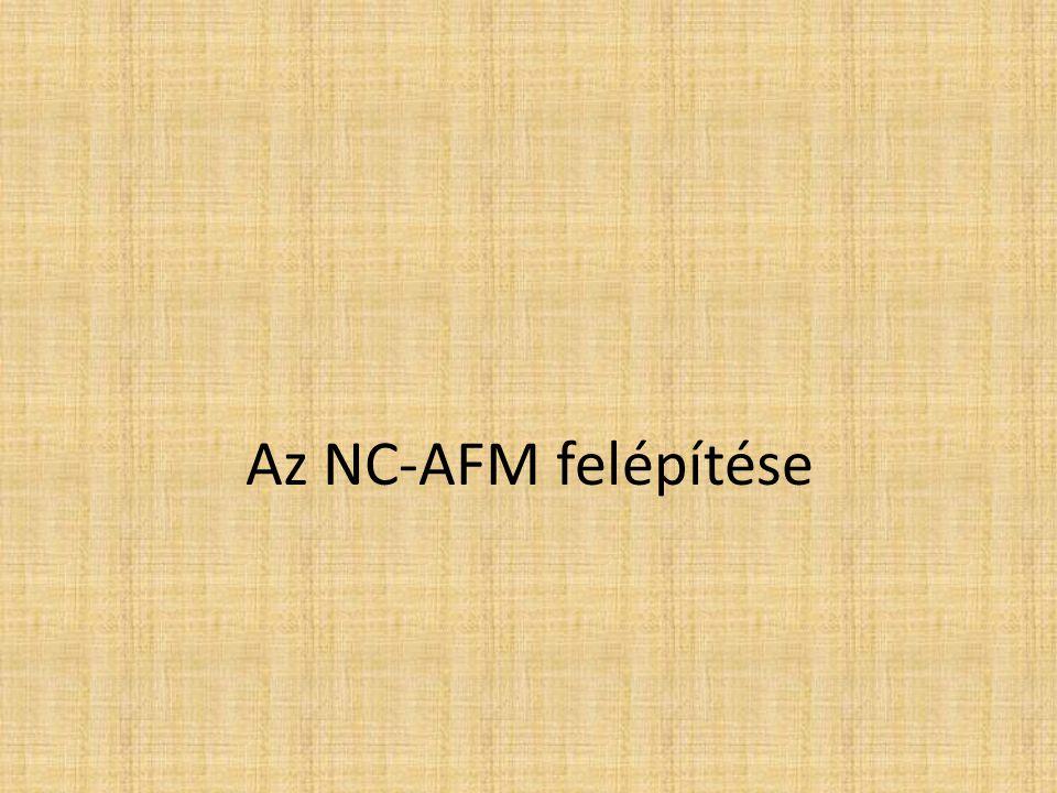Az NC-AFM felépítése