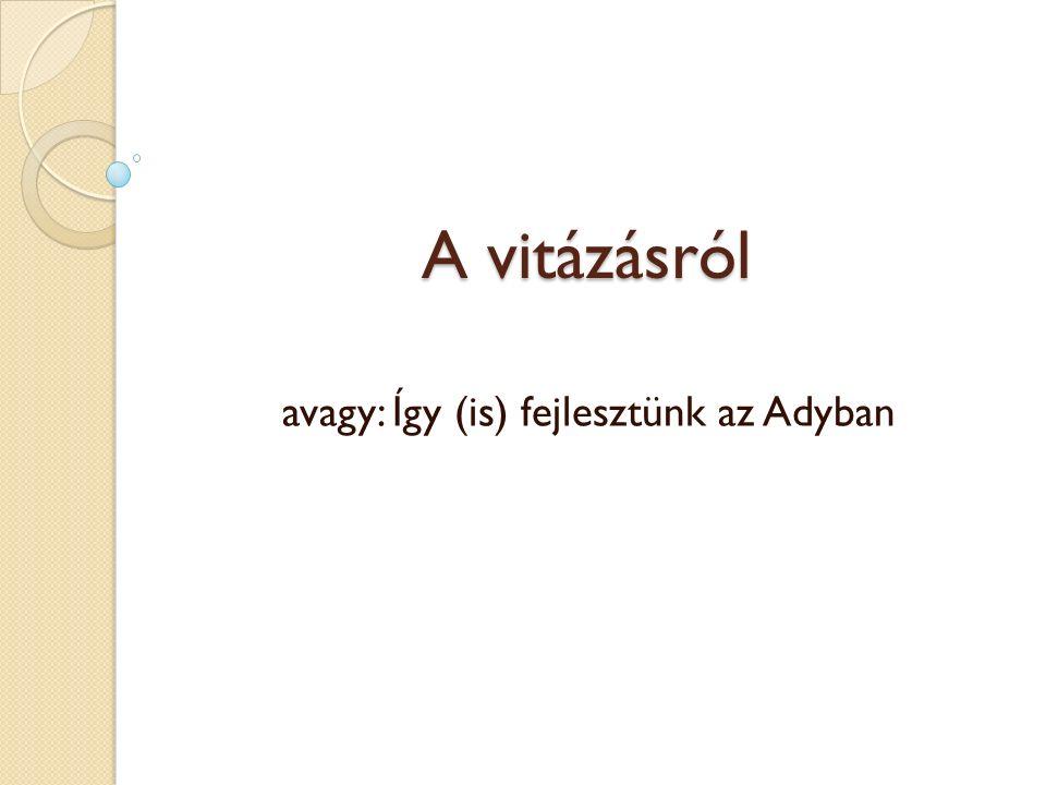 Érdeklődőknek Vitakuckó – kedd fél 3 http://ede.ngo.ro