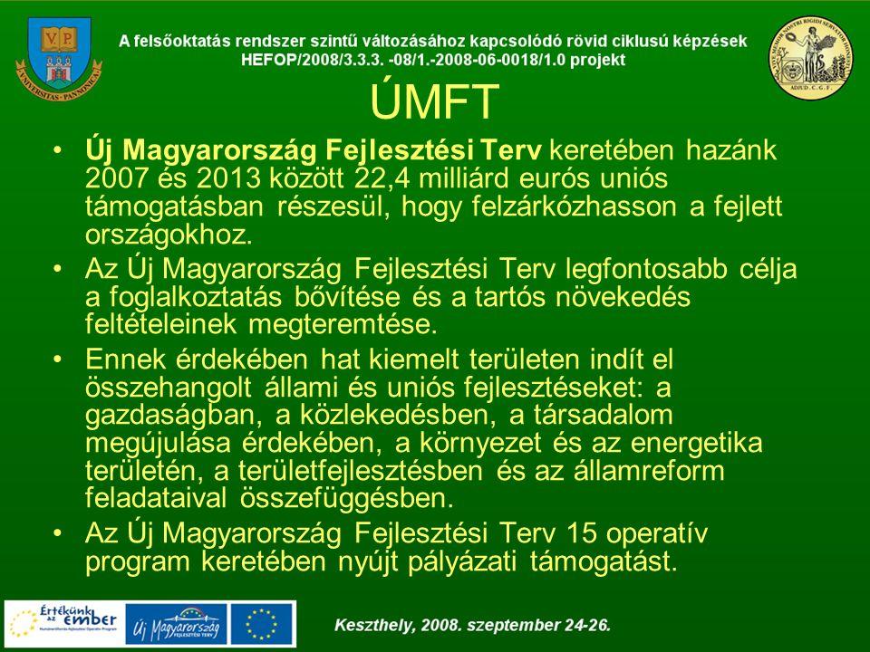 Az NFT során a Humánerőforrás-fejlesztési Operatív Programban (HEFOP), az ÚMFT során pedig a Társadalmi Megújulás (TÁMOP), a Társadalmi Infrastruktúra (TIOP) és a Közép Magyarországi (KMOP) Operatív Programokban célkitűzés a foglalkoztathatóság fejlesztése, a munkaerőpiacra való belépés ösztönzése, az alkalmazkodóképesség javítása, a társadalmi befogadás, részvétel erősítése, illetve a mindezt támogató infrastruktúra fejlesztése.