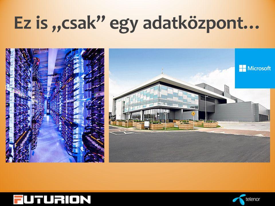 """Ez is """"csak egy adatközpont…"""