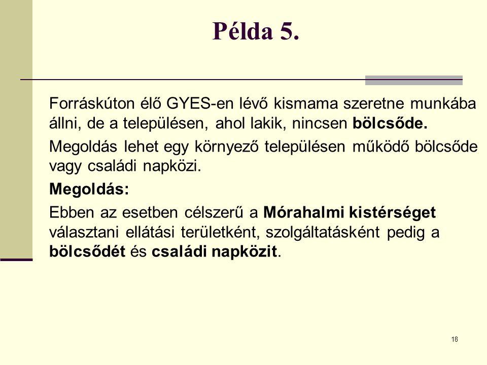 18 Példa 5.