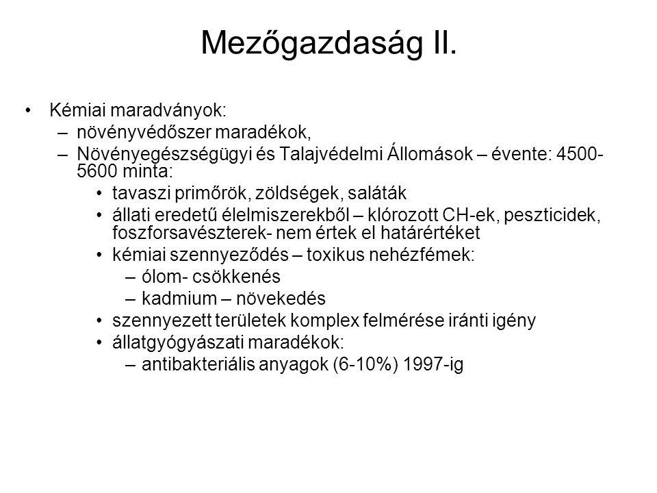 Mezőgazdaság II.