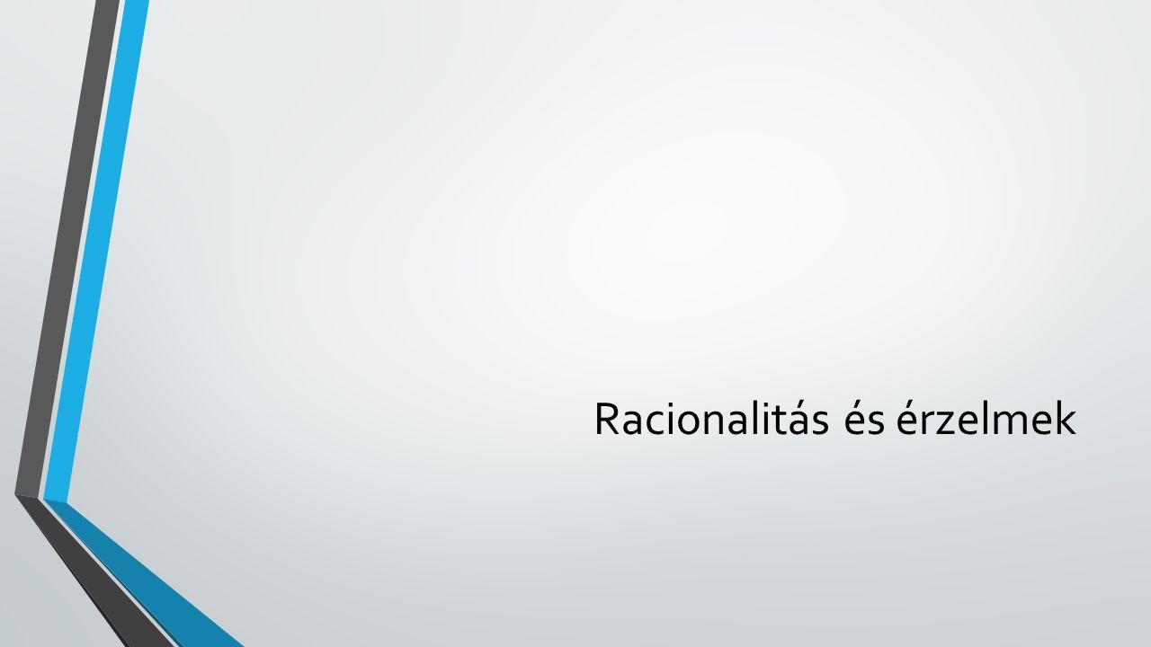 Racionalitás és érzelmek