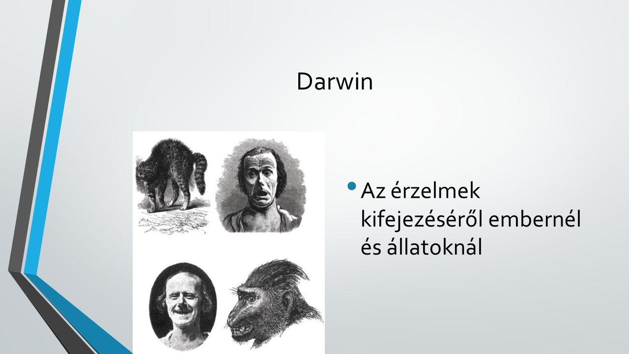 Darwin Az érzelmek kifejezéséről embernél és állatoknál
