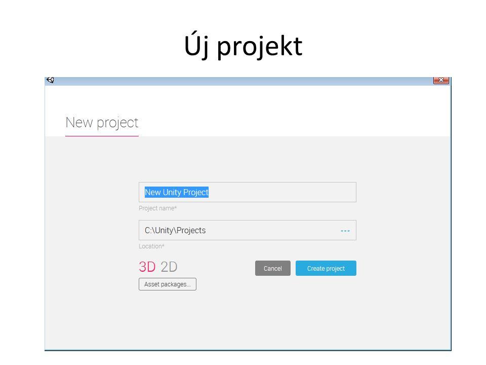 Új projekt