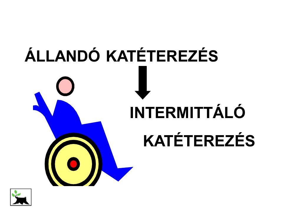 ÁLLANDÓ KATÉTEREZÉS INTERMITTÁLÓ KATÉTEREZÉS