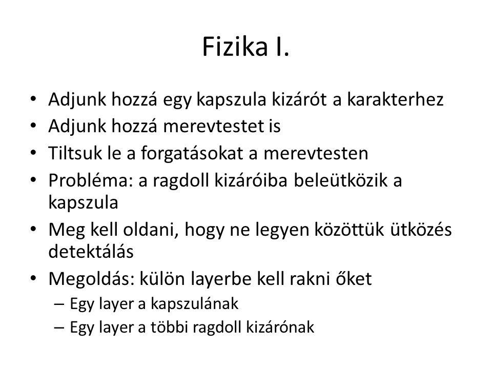 Fizika I.