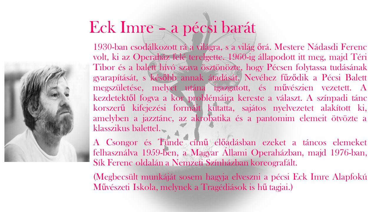 Sík-es darab, ami nem sikkes Sík Ferenc a népmesei és a néptáncos motívumokra fektette rá a hangsúlyt. Könnyed virgonckodást varázsolt a néz ő knek. C