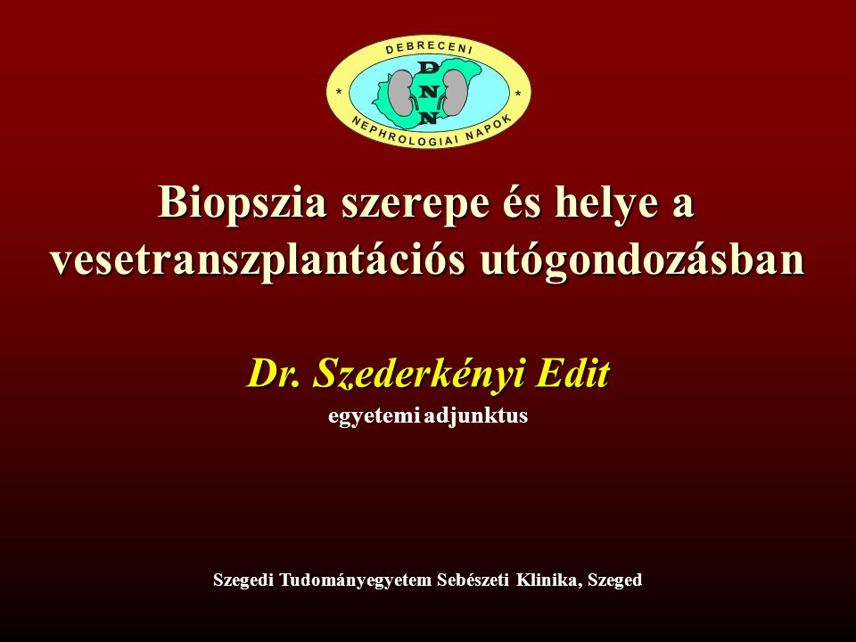 CNI Ta: thromboticus microangiopathia