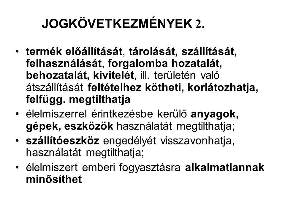JOGKÖVETKEZMÉNYEK 2.