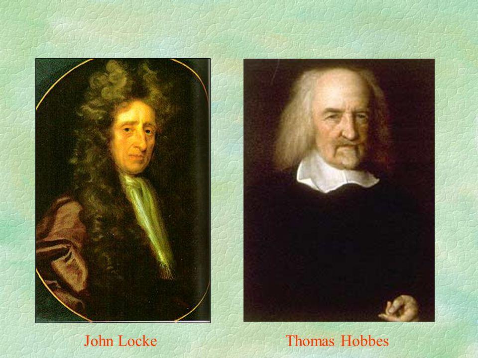 John LockeThomas Hobbes
