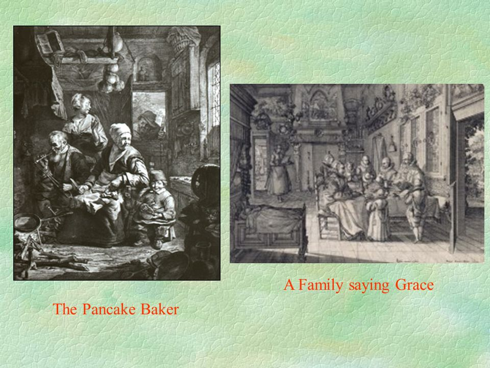 A Family saying Grace The Pancake Baker