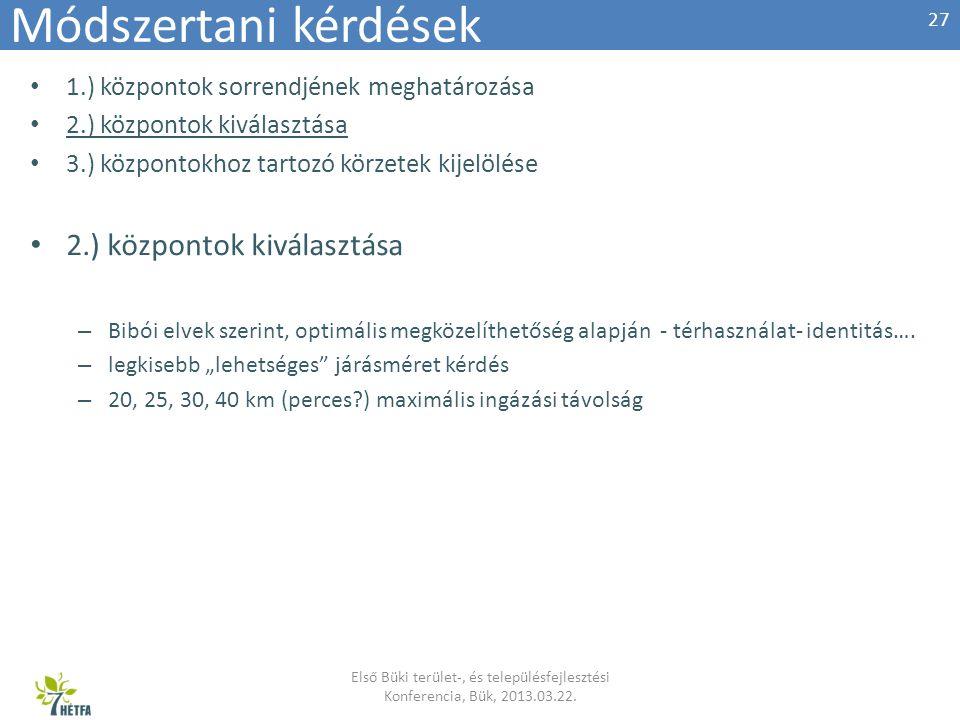 Első Büki terület-, és településfejlesztési Konferencia, Bük, 2013.03.22.