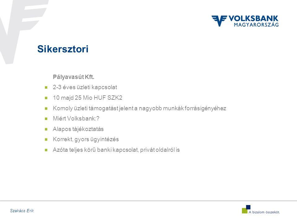 Szakács Erik Sikersztori Pályavasút Kft.