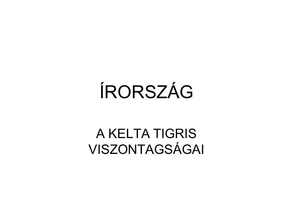 ÍRORSZÁG A KELTA TIGRIS VISZONTAGSÁGAI