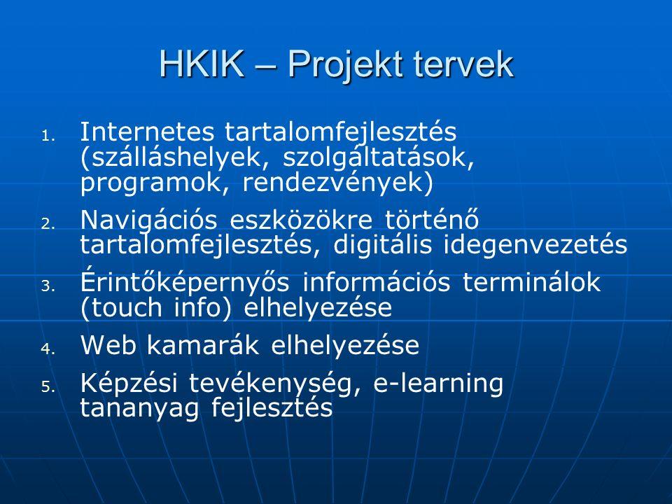 HKIK – Projekt tervek 1. 1.