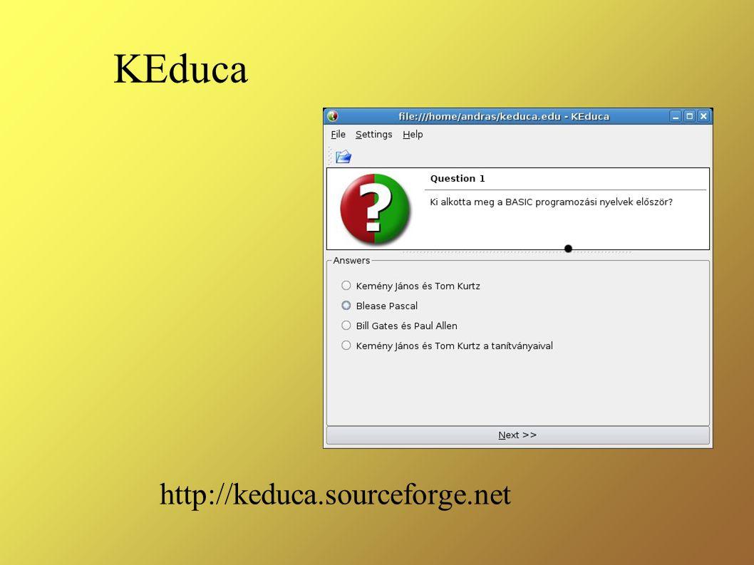KEduca http://keduca.sourceforge.net