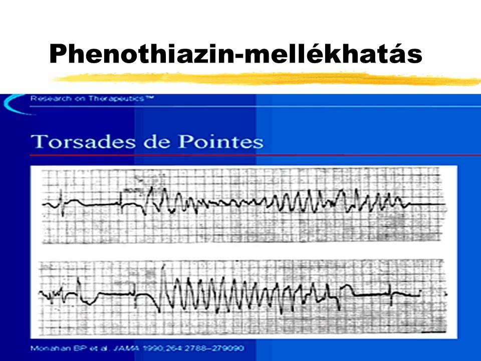 Phenothiazin-mellékhatás