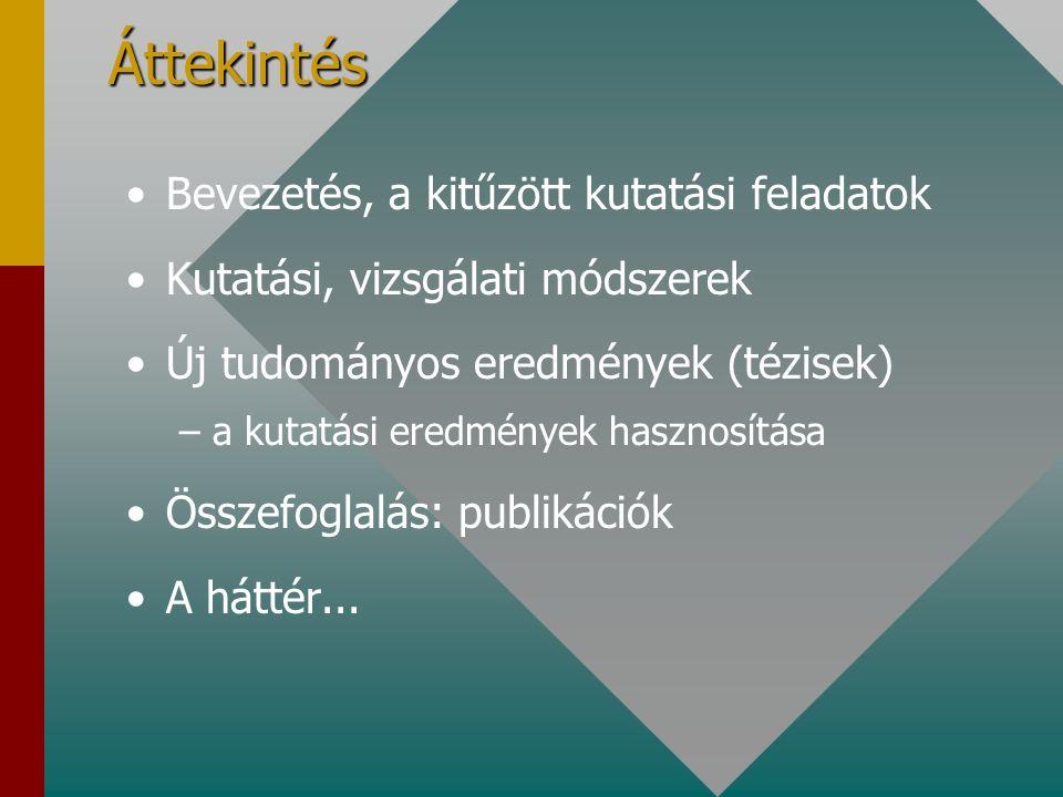 Potenciálok rétegszerkezetekben, határfelületeken Habilitációs kollokvium dr. Mizsei János, 2003