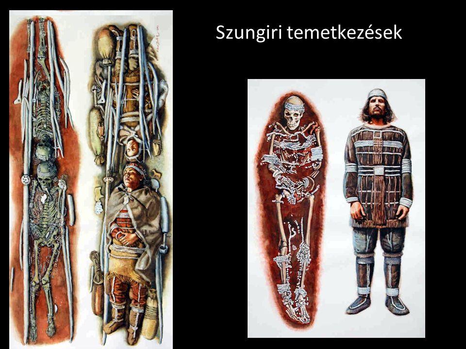 Szungiri temetkezések