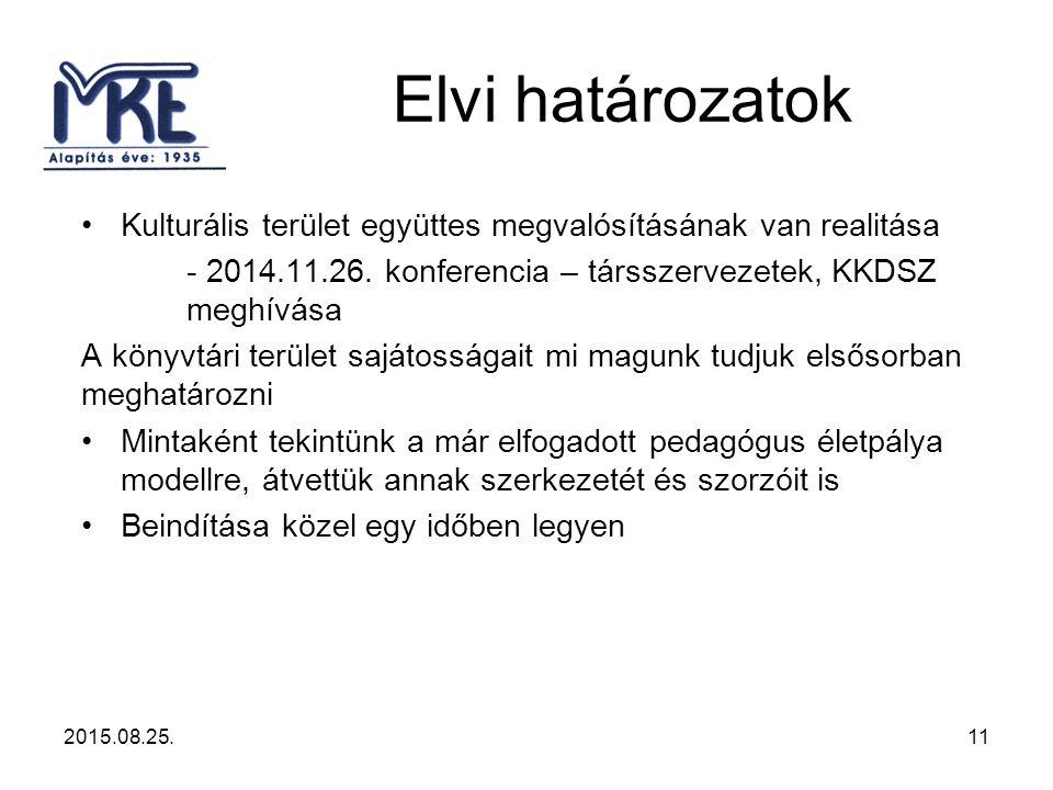 Kulturális terület együttes megvalósításának van realitása - 2014.11.26.