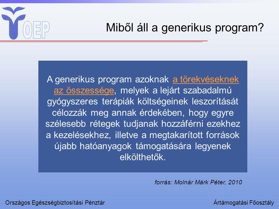 Miből áll a generikus program.