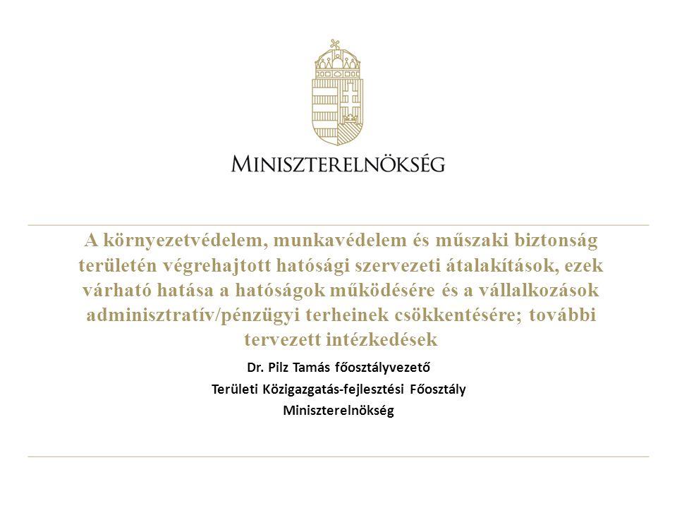 2 1.A területi államigazgatás 2015. évi integrációjának előzményei I.