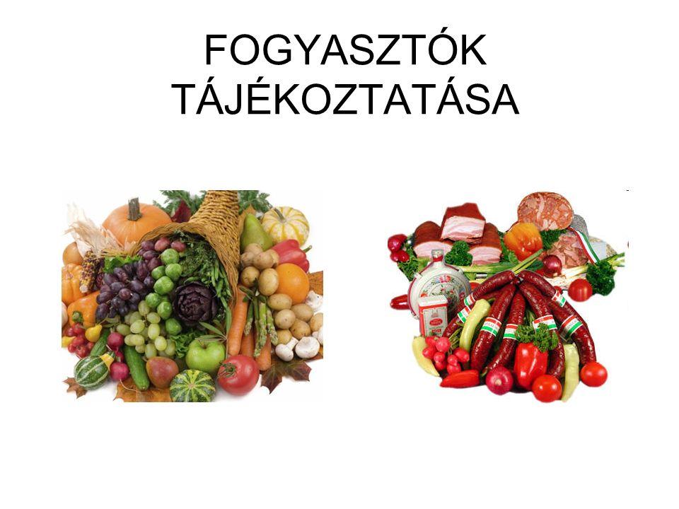 FOGYASZTÓK TÁJÉKOZTATÁSA