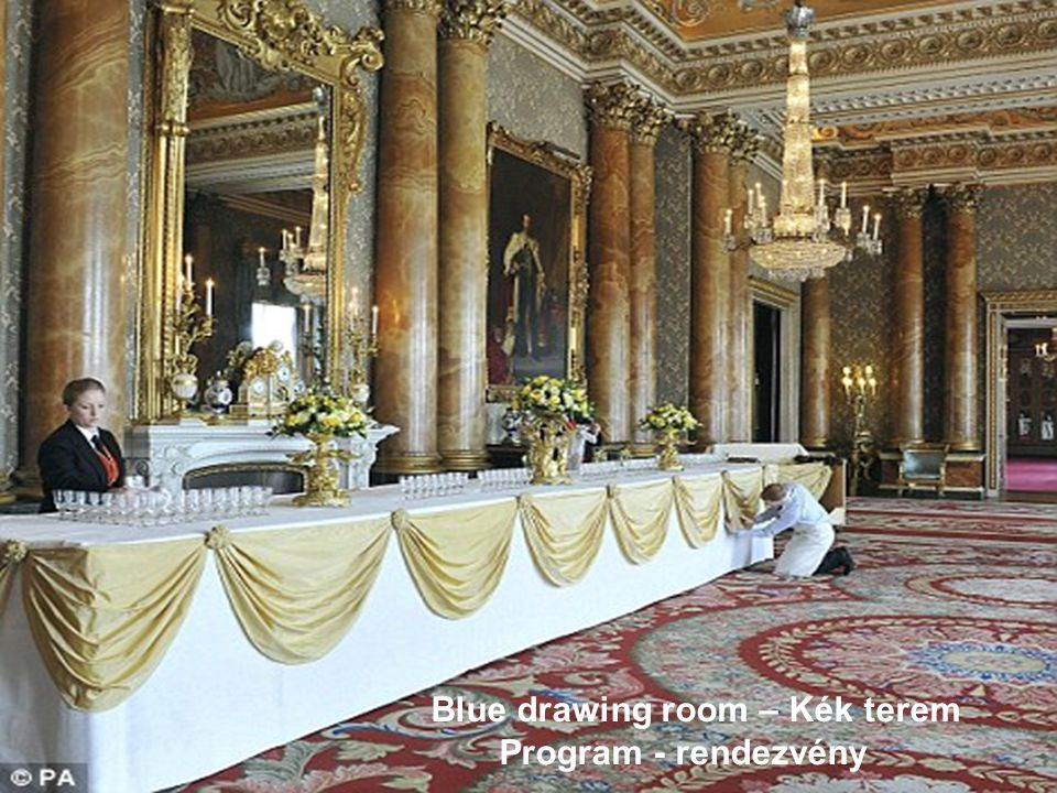 Blue drawing room – Kék terem