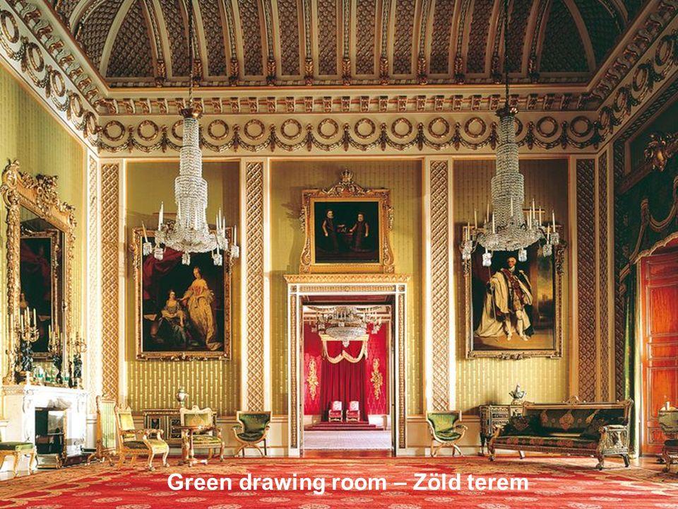 Green drawing room – Zöld terem