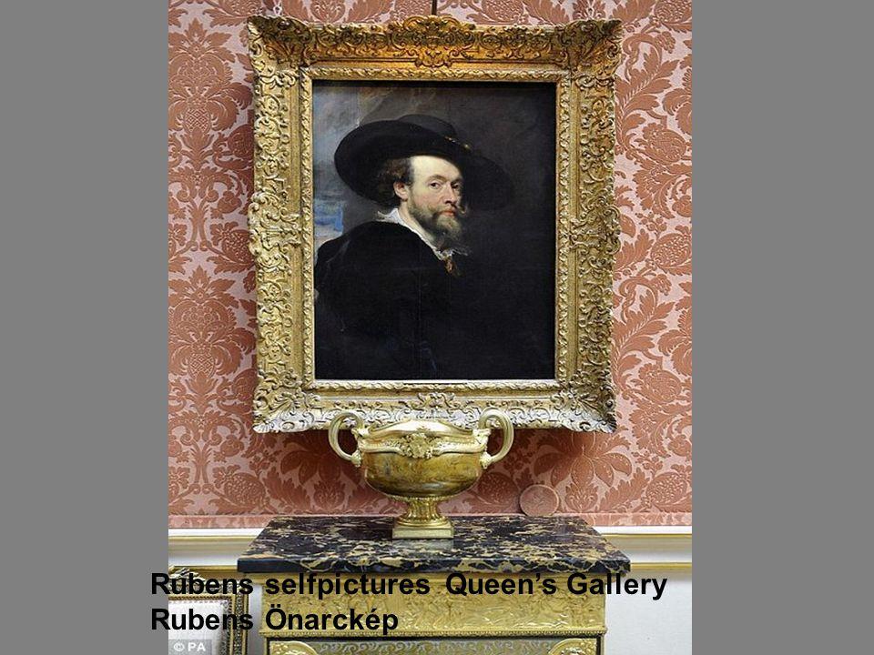 Rubens selfpictures Queen's Gallery Rubens Önarckép
